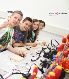 Besuche in der wiwe, 36 Schülerinnen und Schüler aus Italien besuchten die wissenswerkstatt Passau.